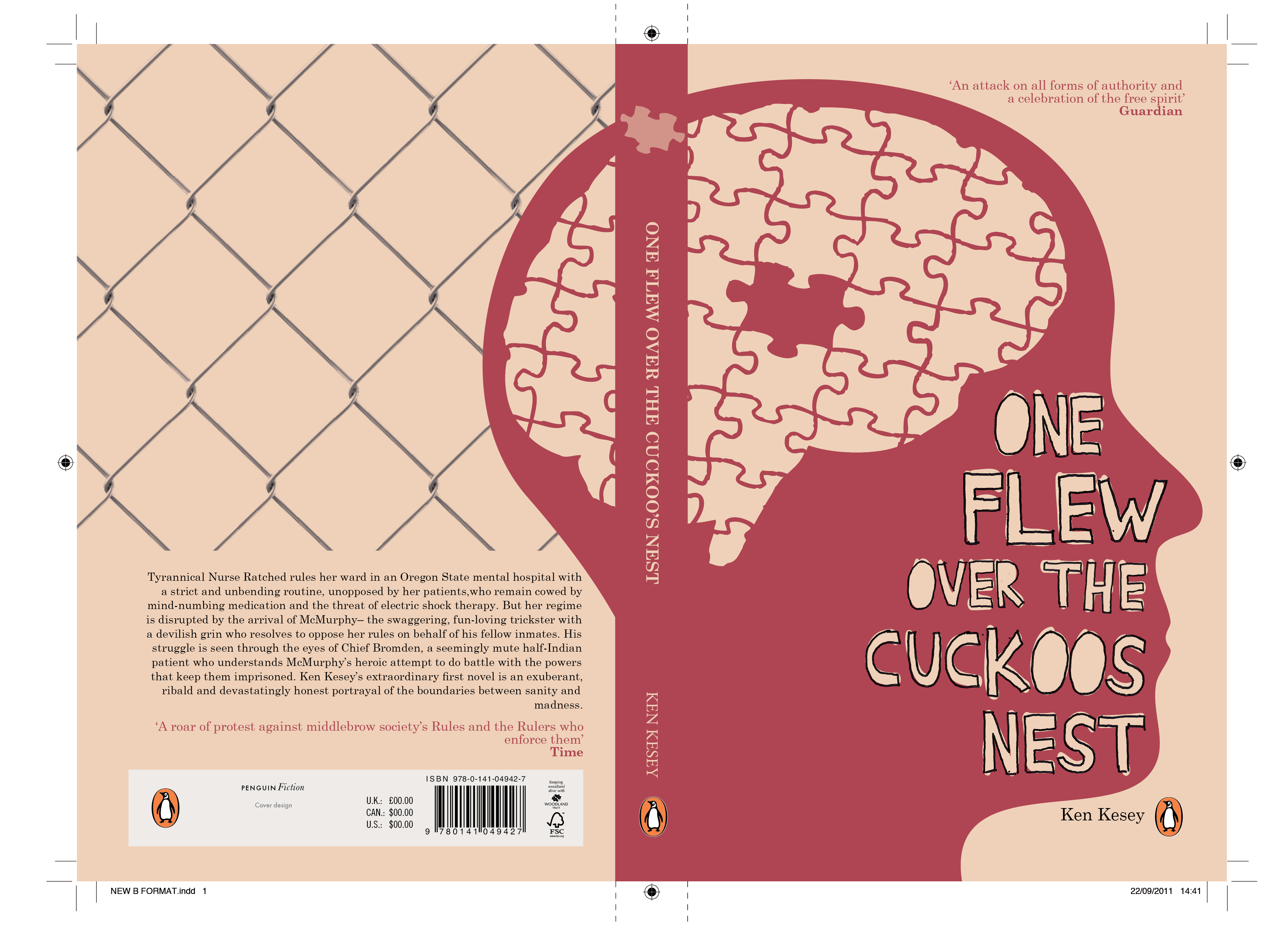 one flew over the cuckoos nest (individual vs society) essay One flew over the cuckoo's nest essay back next  writer's block can be painful, but we'll help get you over the hump and build a great outline for your paper.