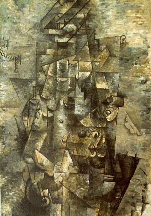 """Man with a Guitar"" Georges Braque"