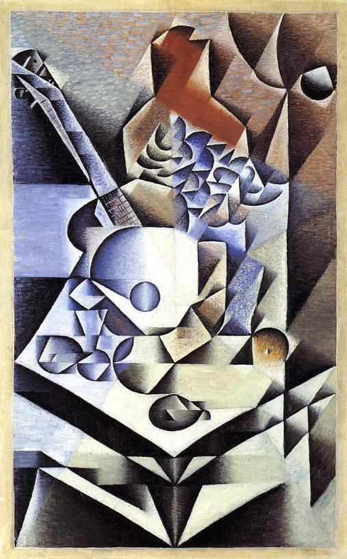 """Still Life with Flowers"" Juan Gris"