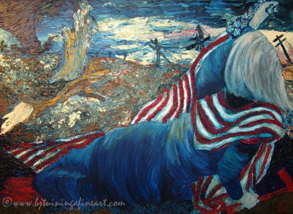 Rape of America by BJ Tuininga